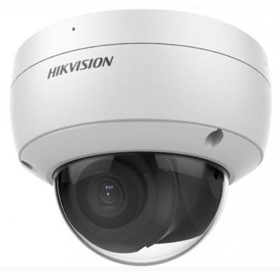 DS-2CD2146G2-ISU(2.8mm) - 4MPix IP Dome AcuSense kamera, IR 30m, Audio, Alarm, mikrofon, IK10