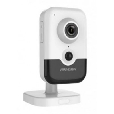 DS-2CD2423G0-IW(4mm)(W) - 2MPix IP Cube kamera, IR 10m, PIR, Wi-Fi, mikrofon + reproduktor