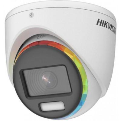 DS-2CE70DF8T-MF(3.6mm) - 2MPix HDTVI Dome ColorVu kamera, IR 20m, 4v1