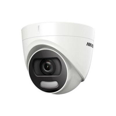DS-2CE72HFT-F28(2.8mm) - 5MPix HDTVI Dome ColorVu kamera, IR 20m, 4v1, IP67, WDR 130dB