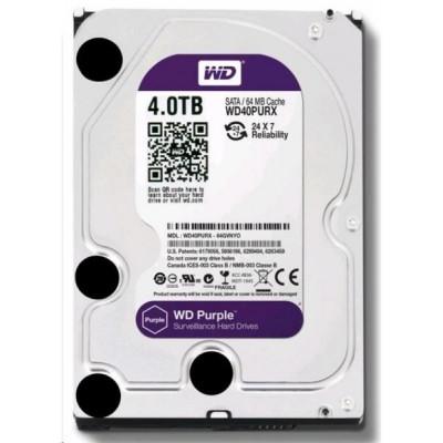 HDD 4TB WD40PURZ - Western Digital PURPLE 4TB 64MB cache