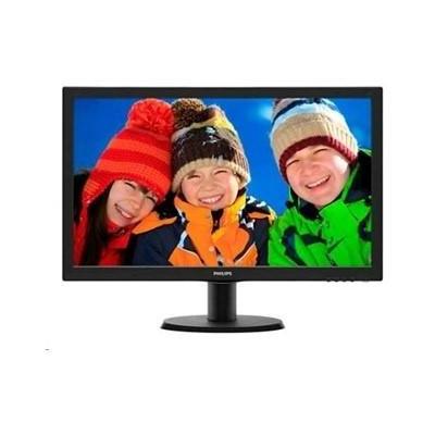 LCD 21,5 Philips - 223V5LSB2-, 1920x1080, 200cd/m, 5ms, 10mil:1, D-Sub