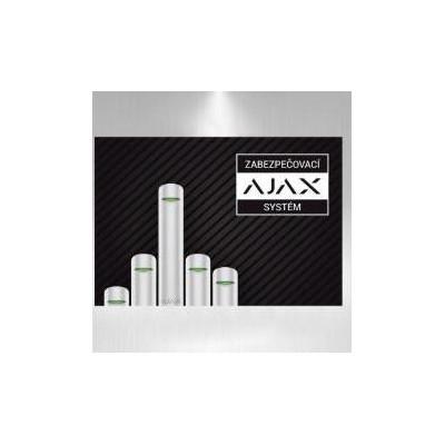 Výstražná samolepka AJAX - Zabezpečovací systémy AJAX