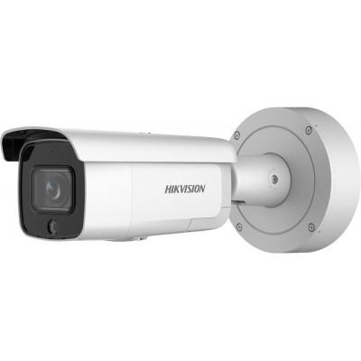 DS-2CD2646G2-IZSU/SL(2.8-12mm) (C) - 4MPix IP Bullet AcuSense kamera, IR 60m, Audio, Alarm, IK10, reproduktor, mikrofon, blikač
