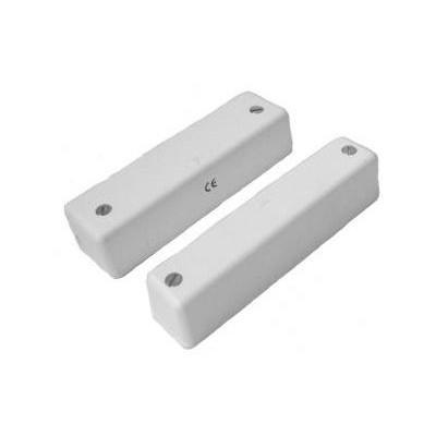 BS-2071 - Kovový povrchový magnetický kontakt 50x17x9 mm, kabelem