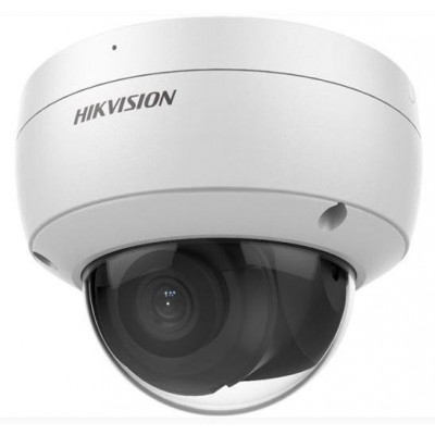 DS-2CD2146G2-ISU(4mm) (C) - 4MPix IP Dome AcuSense kamera, IR 30m, Audio, Alarm, mikrofon, IK10