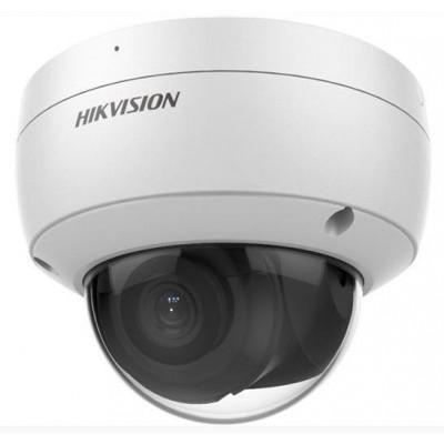 DS-2CD2186G2-ISU(2.8mm) - 8MPix IP Dome AcuSense kamera, IR 30m, Audio, Alarm, mikrofon, IK10