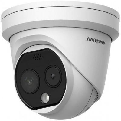 DS-2TD1217-3/PA - IP Dome termo - optická kamera, IR 15m, Audio, Alarm, objektiv 3,1mm