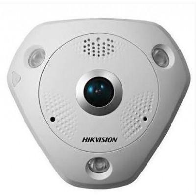 DS-2CD6365G0E-I(1.27MM)(B) - použitá - 6MPix IP Fisheye kamera, IR 15m