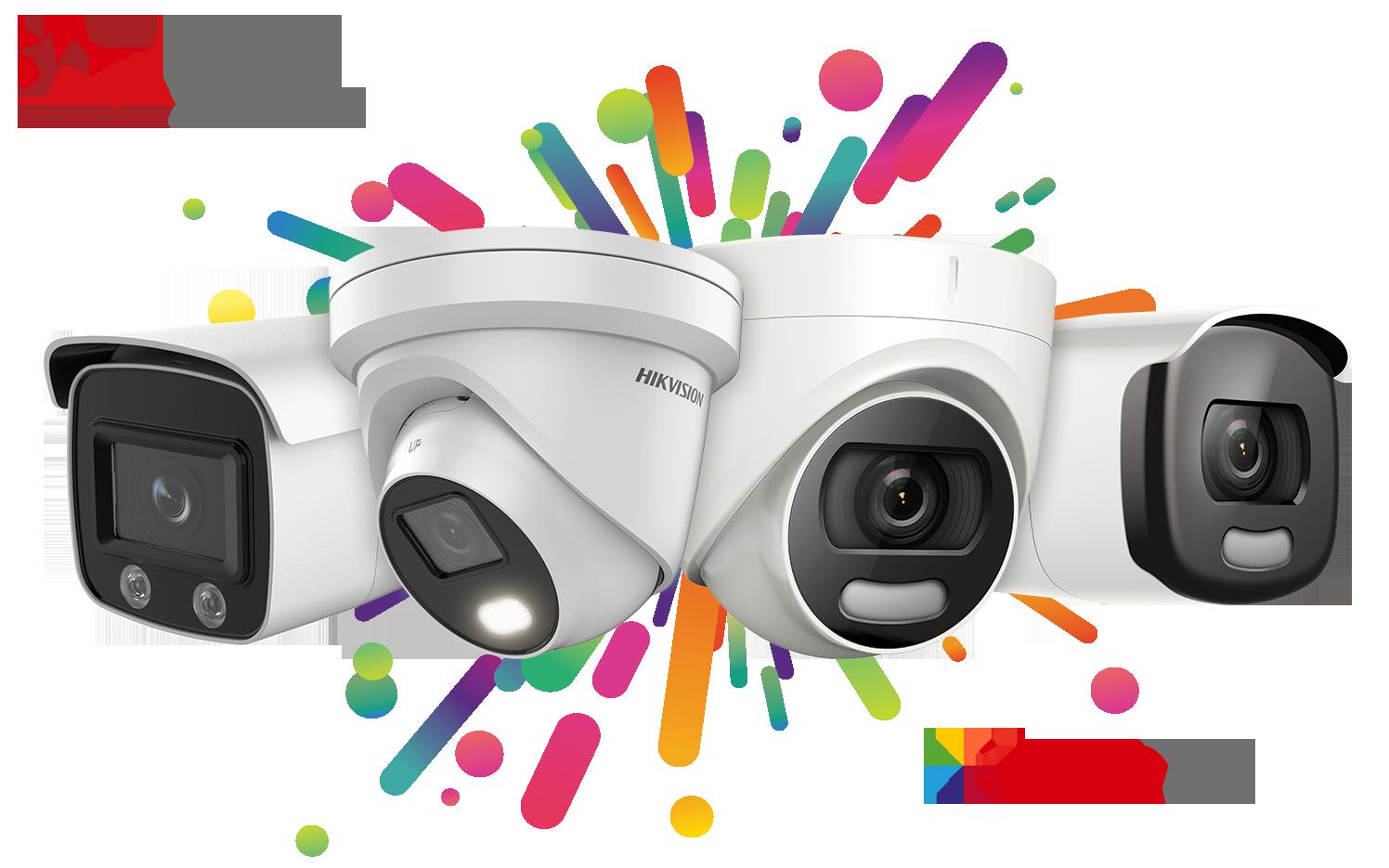 Nový rad ColorVu kamier s technológiou AcuSense
